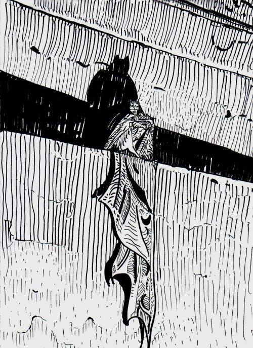 Batman par Moebius
