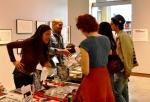 La expo permite un acercamiento único con los artistas