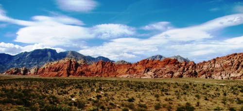Red Rock, stressful place outside Las Vegas
