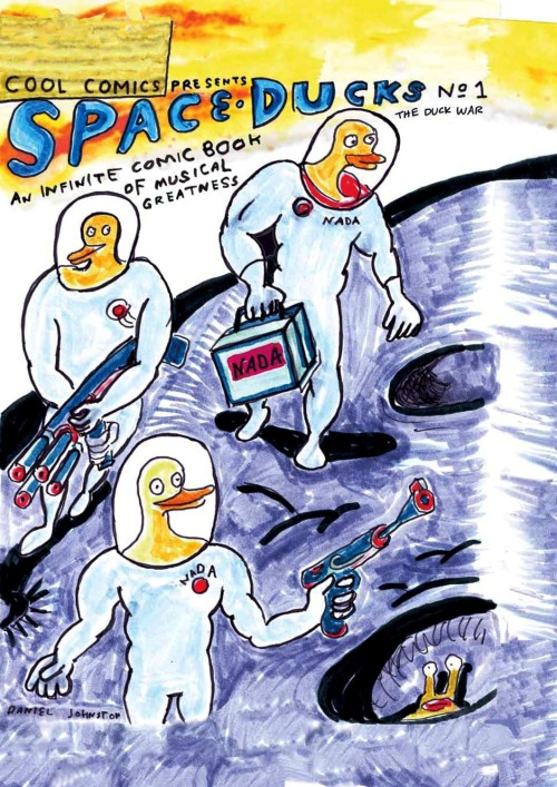 Portada de SPACE DUCKS