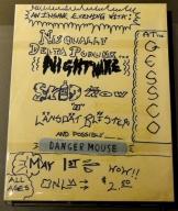 Poster con Skid Row (nombre previo a Nirvana)