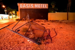 Oasis at the desert
