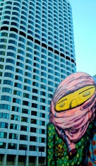 Mural by Os Gemeos