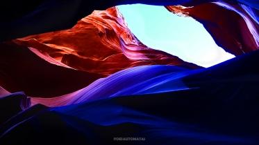 Antelope Canyon by @desautomatas