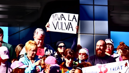 Women's March Las Vegas 01/21/17, by @desautomatas