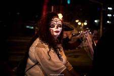 Biking - Las Vegas Halloween 2017 at Fremont Street, by Juan Cardenas @desautomatas