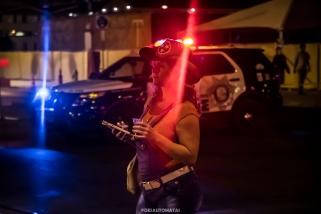 Cowgirl - Las Vegas Halloween 2017 at Fremont Street, by Juan Cardenas @desautomatas