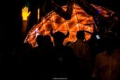 Horny silhouette - Las Vegas Halloween 2017 at Fremont Street, by Juan Cardenas @desautomatas
