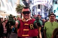 Robin - Las Vegas Halloween 2017 at Fremont Street, by Juan Cardenas @desautomatas