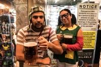 El Chavo del 8 y la Chilindrina - Las Vegas Halloween 2017 at Fremont Street, by Juan Cardenas @desautomatas
