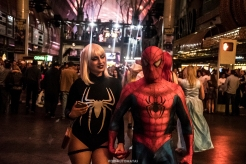 Date night - Las Vegas Halloween 2017 at Fremont Street, by Juan Cardenas @desautomatas