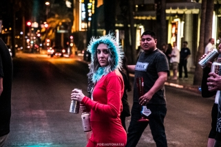 Thing one - Las Vegas Halloween 2017 at Fremont Street, by Juan Cardenas @desautomatas