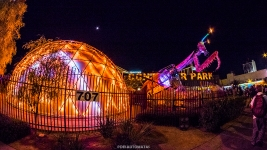 Container Park - Las Vegas Halloween 2017 at Fremont Street, by Juan Cardenas @desautomatas