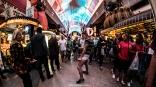 Dancing - Las Vegas Halloween 2017 at Fremont Street, by Juan Cardenas @desautomatas