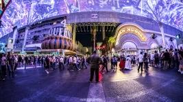 Fidel Castro - Las Vegas Halloween 2017 at Fremont Street, by Juan Cardenas @desautomatas