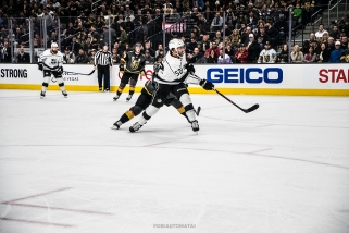 Las Vegas, 2/27/18 - NHL Hockey game, Las Vegas Golden Knights vs Los Angeles Kings at the T-Mobile Arena of Las Vegas. (Photo credit: Juan Cardenas)