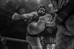LAS VEGAS 3/16/18 - LFC 25 Showdown (Lingerie Fighting Championship) at Sam's Town Casino (Photo credit: Juan Cardenas)